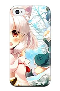 Durable Protector Case Cover With Anime - Touhou Hot Design For Iphone 4/4s