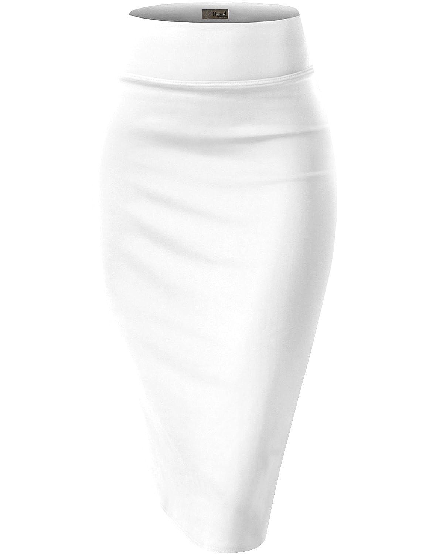 HyBrid & スカート Company レディーズ ホワイト エラスティック ウエスト プリント ストレッチ オフィス ペンシル スカート ビューティフル プリント B01ELTSX9K Mサイズ|ホワイト ホワイト Mサイズ, オオミシマチョウ:9d17cc45 --- blog.ferraridentalclinic.com.lb