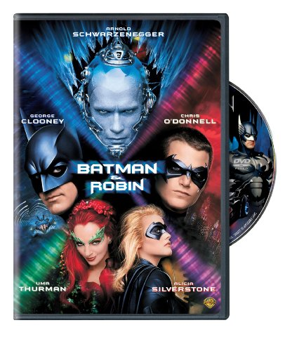 Amazon Com Batman Robin Arnold Schwarzenegger George Clooney Chris O Donnell Uma Thurman Alicia Silverstone Michael Gough Pat Hingle Elle Macpherson John Glover Vivica A Fox Vendela K Thommessen Bob Kane Joel Schumacher