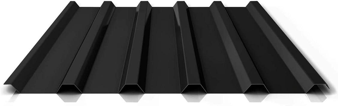 Profil PS20//1100TW Profilblech Trapezblech Beschichtung 25 /µm Farbe Anthrazitgrau St/ärke 0,40 mm Material Stahl Wandblech