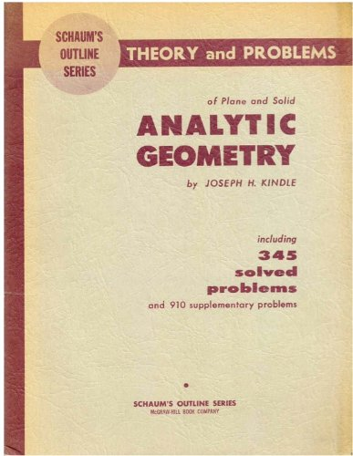 Analytic Geometry (Schaum's Outline)