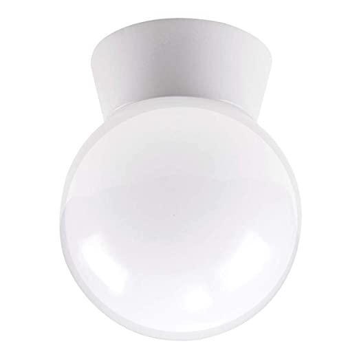 Amazon.com: 5,98-in W ópalo blanco LED luz de montaje ...