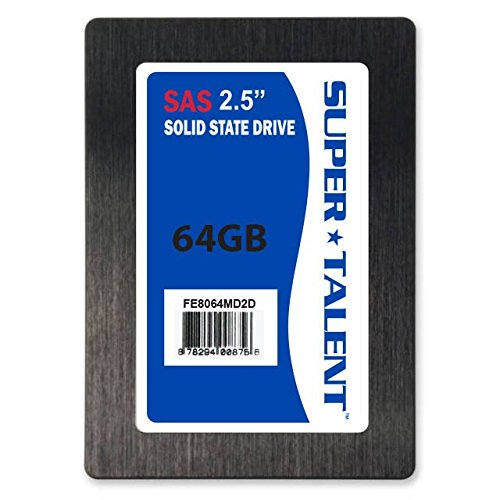 Super Talent 2.5-Inch 64GB 44-Pin IDE/PATA Internal SSD - Pata State Drive Solid