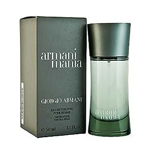 Mania By Giorgio Armani For Men. Eau De Toilette Spray 1.7 Ounces