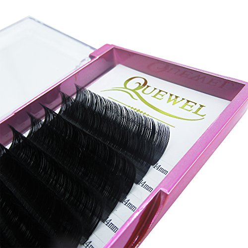 Handmade Soft Natural Mink Eyelash Extensions 0.07 Curl C/D Length From 6MM To 18MM Soft Individual Lashes Tray For Eyelash Extensions(0.07 C Curl, 14mm)