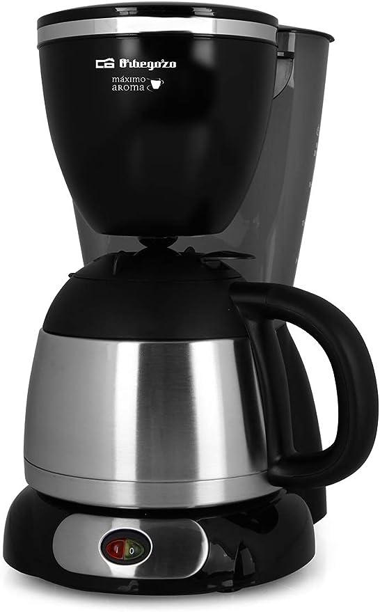 Cafetera de goteo ORBEGOZO CG5011 | ORBEGOZO 10-12 tazas Jarra termo: Amazon.es: Hogar