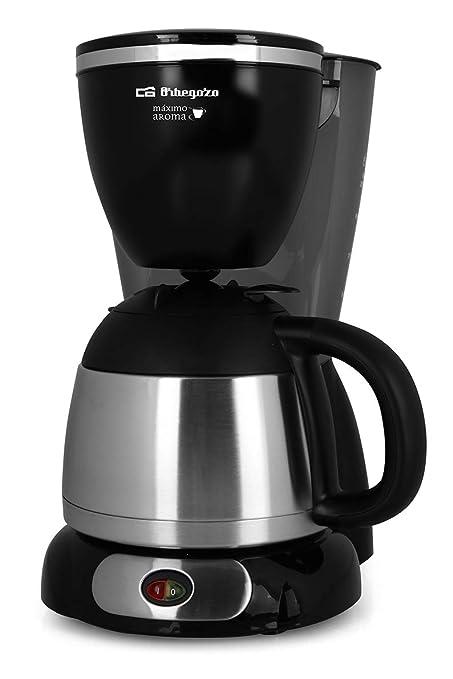 Cafetera de goteo ORBEGOZO CG5011 | ORBEGOZO 10-12 tazas Jarra termo