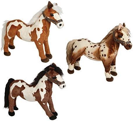 "B005KKMRDI Rhode Island Novelty 19"" Standing Horse Plush 51Jjn86V8qL"