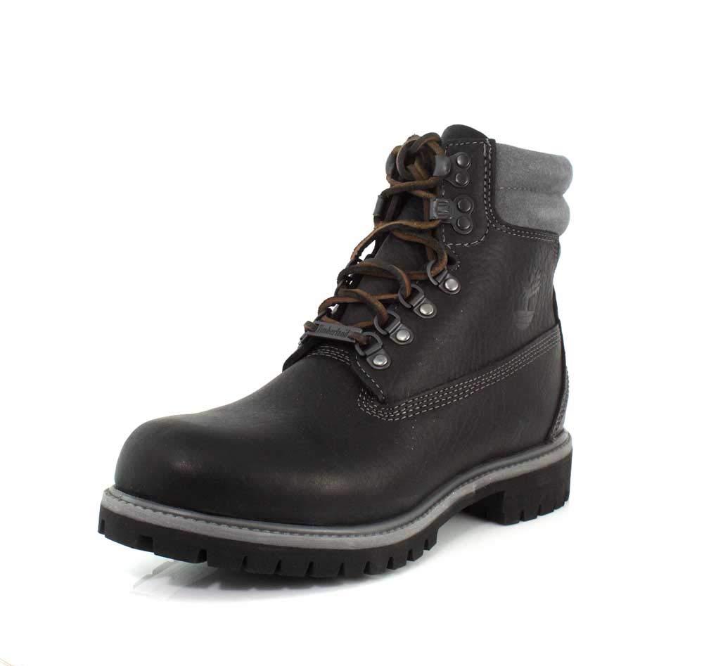 Timberland Men's 6'' Premium Boot Black Highway 7.5 D US
