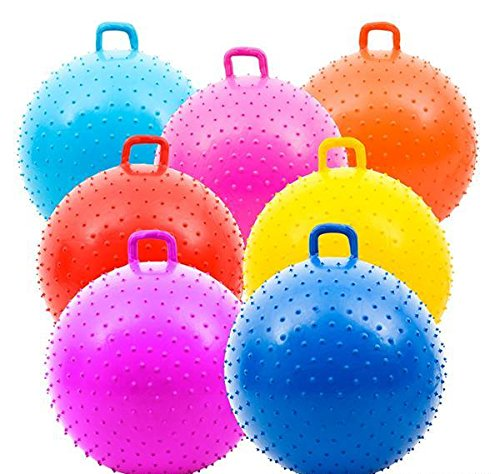 36'' KNOBBY BALL WITH HANDLE, Case of 1 by DollarItemDirect