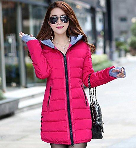 VADOOLL - Sudadera con capucha - para mujer Rosa rosa