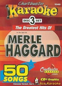 Chartbuster Karaoke CDG 3 Disc Pack CB5049 - Merle Haggard Karaoke