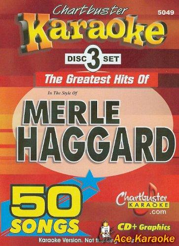 Chartbuster Karaoke CDG 3 Disc Pack CB5049 - Merle Haggard