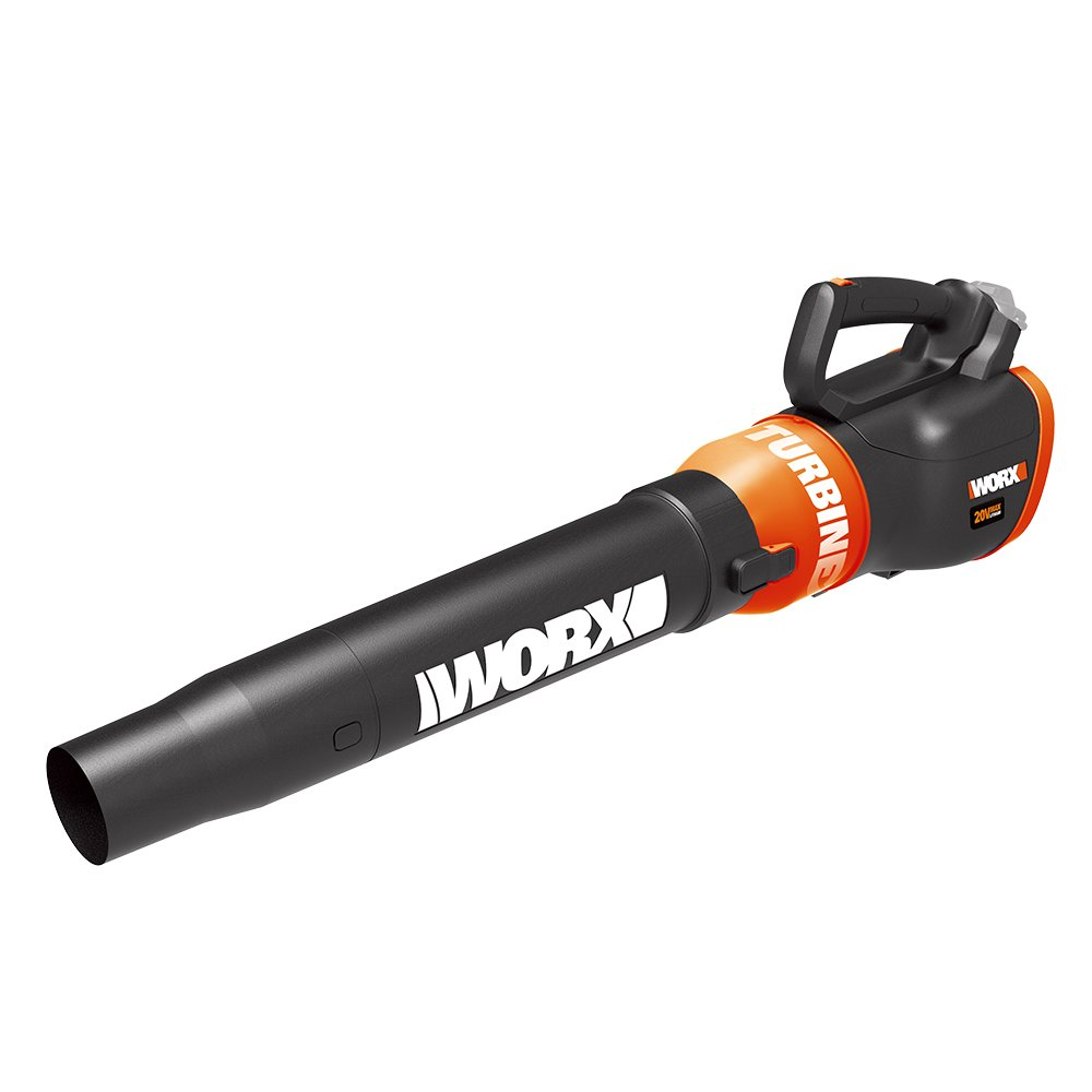 Worx WG546.9 20V Turbine Cordless Blower/Sweeper with 340 CFM 2-Speed TOOL ONLY