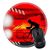 MSD Mousepad Round Mouse Pad/Mat 20044971 Sport illustration