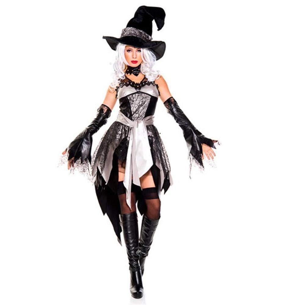 Ambiguity Halloween kostüm Damen Halloween Hexenkostüm American Queen Outfit Cosplay Kostüm Uniform