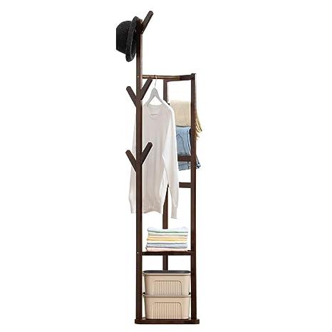 NIUZIMU Perchero de bambú Perchero Moderno y Sencillo ...