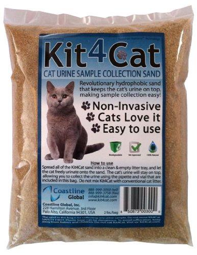 Kit4Cat Hydrophobic Sand (2 lbs), My Pet Supplies