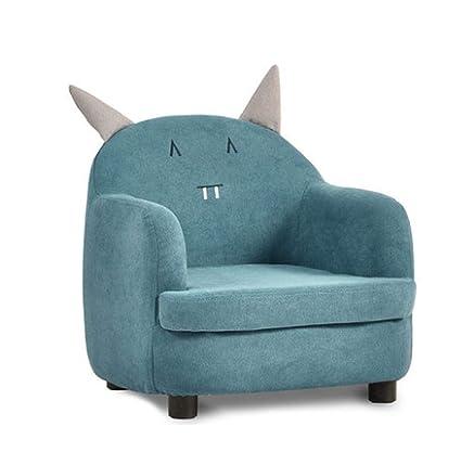 Sofá para niños, asiento, sillón para niña, lindo y perezoso ...