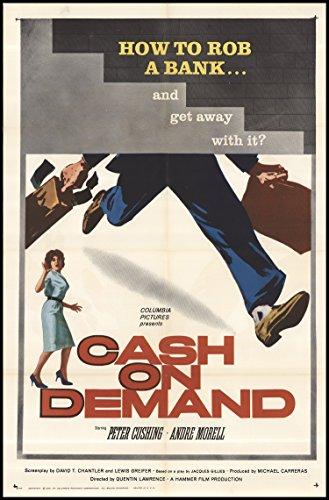 cash-on-demand-1961-original-movie-poster-crime-drama-thriller-dimensions-27-x-41