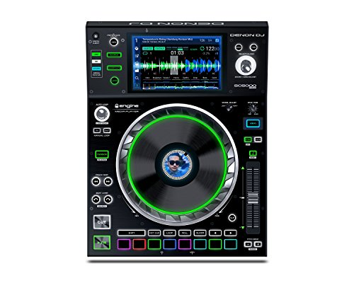 Denon DJ SC5000 Prime | Engine Media Player with 7″ Multi-Touch Display