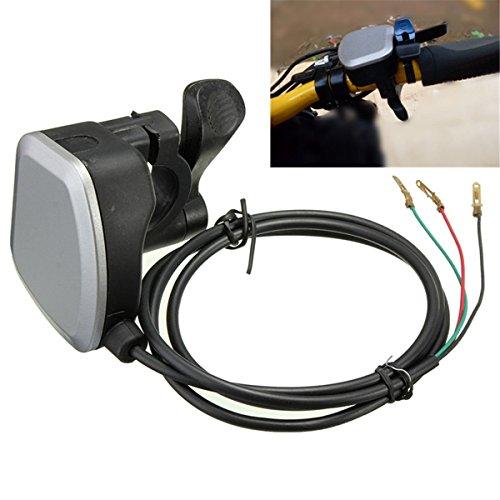 7/8'' Handlebar Electric Bike Scooter E-Bike Thumb Throttle Gas Twist 3 wire