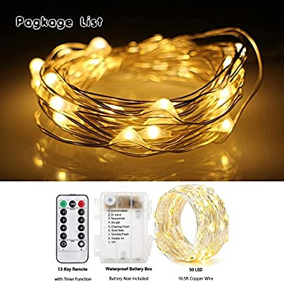 Fairy Led Atmosphere Lights Outdoor Tent Light Led Rope Lights Firefly Lights String Lights 8 Mode Dimmable Led Fairy Lights For Outdoor Indoor Home Decoration Diy 16 5 Ft Long Warm White Amazon Ae