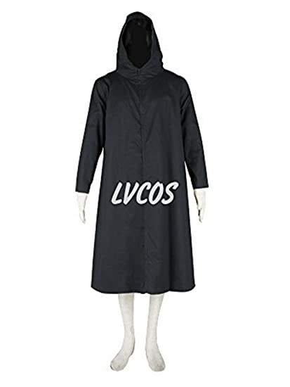 Amazon.com: Lvcos Anbu 2nd Gen Hooded Cloak Ninja Cosplay ...