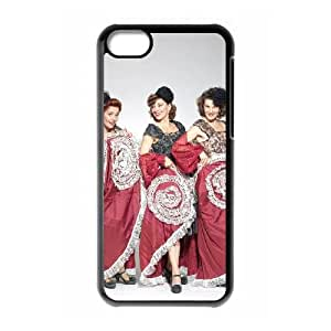iPhone 5c Cell Phone Case Covers Black Viennese Singing Sisters TVV Hard Durable Case