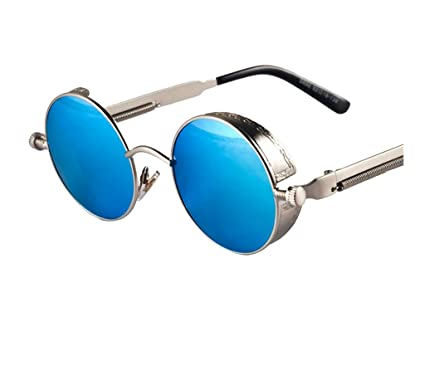 Amazon.com: Arctic Star Steampunk lentes de sol retro, con ...