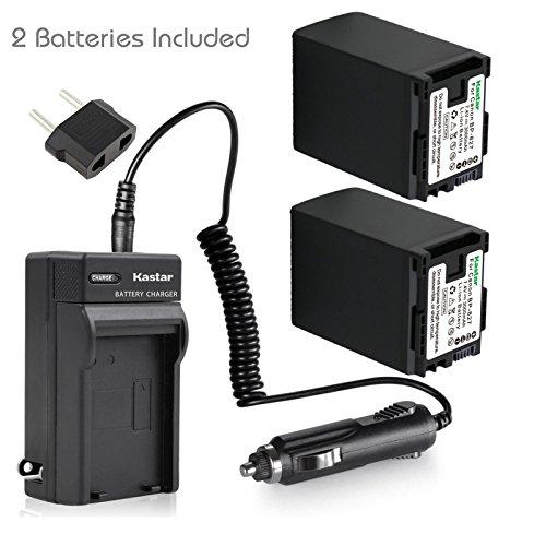 - Kastar BP-827 Battery 2X + Charger for Canon VIXIA HF10 HF11 HF20 HF21 HF100 HF200 HF G10 HF M30 M31 M32 HF M40 HF M41 HF M300 HF M400 HF S10 HF S11 HF S20 HF S21 S30 S100 S200 HG20 HG21 HG30 XA10