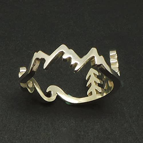 Amazon Com Handmade 925 Sterling Silver Mountain Pine