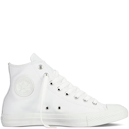 Converse Mens Size 10 White Leather