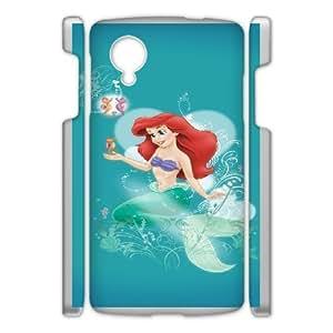 The Little Mermaid For Google Nexus 5 Csae protection phone Case FX221597