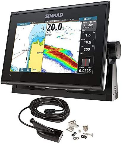 Simrad GO9 XSE Chartplotter/Fishfinder w/Medium/High DownScan Transom Mount Transducer: Amazon.es: Electrónica