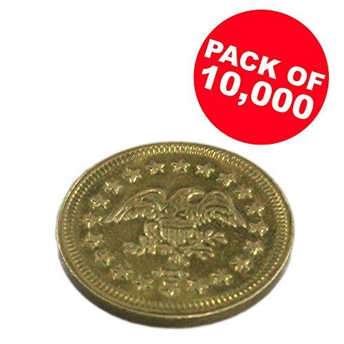 Token Arcade Games (Package of 10,000 .900 Arcade Game Tokens)