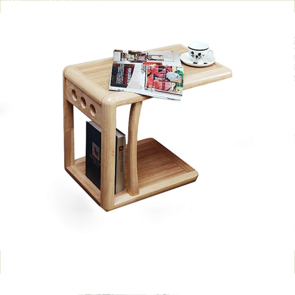 HAIZHEN いくつかの木製のベッドサイド、ソファのサイドテーブルコーナー、いくつかのモバイルコンピュータのテーブル、モバイルの小さなコーヒーテーブルのリビングルーム、ソファ、ベッドサイドなど。   B07NXTMDZD