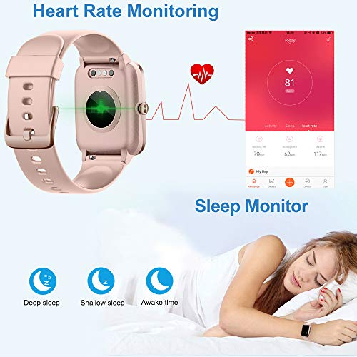 Willful Smart Watch for Android Phones and iOS Phones Compatible iPhone Samsung, IP68 Swimming Waterproof Smartwatch… 4