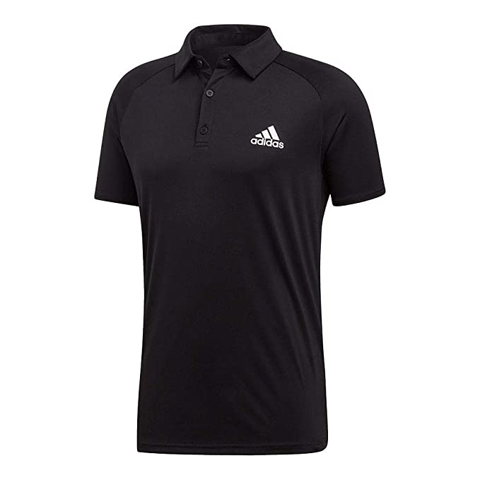 b0c844a4ad5 Amazon.com : adidas Men's Club Color Block Tennis Polo Shirt : Clothing