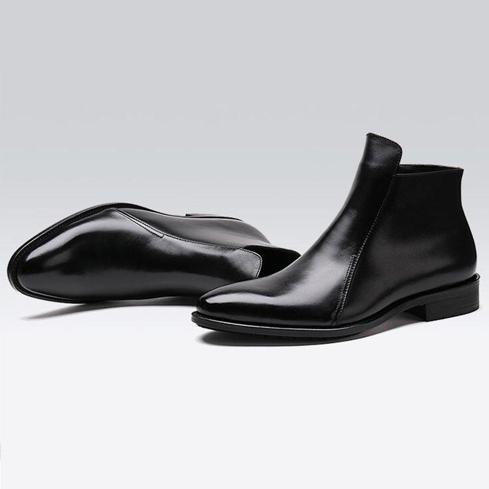 SUNNY メンズブーツBritish Lun Mading Bootsアンクルブーツカジュアル秋冬 (色 : 2, サイズ さいず : EU43/UK9/CN44) EU43/UK9/CN44 2 B07KVTB17G