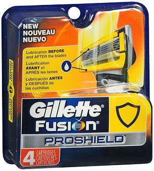 Price comparison product image Gillette Fusion Proshield Men's Razor Blade Refills, 4-Count