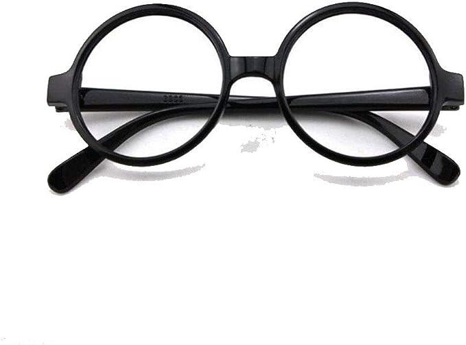 Islander Fashions Wizard Gafas redondas negras sin lentes Libro ...