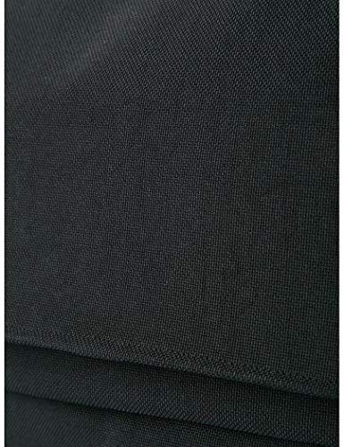 Stone Única Reflectante Messenger Negro De Color Con Bolsa Hombre Island Mano Talla PPqg8rS