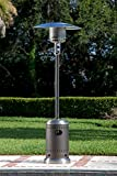 Fire Sense and Stainless Steel Commercial Patio Heater, Mocha