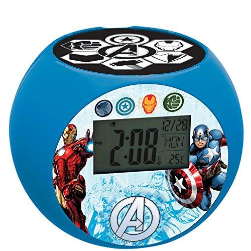 Lexibook - RL975AV - Radio Réveil Projecteur Avengers