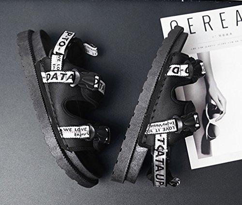 Black Femaroly 40 EU Uomo White Sandali xPP8rEqY