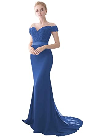 82e57d0bf Miao Duo Women s Retro Long Mermaid Evening Gowns Formal Homecoming ...