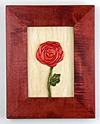 Mackintosh Rose Carving