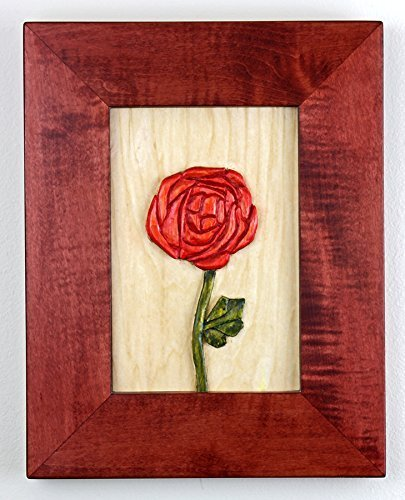 Mackintosh Rose Carving - Mackintosh Panel