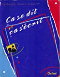 img - for Ca se Dit et Ca s'Ecrit book / textbook / text book